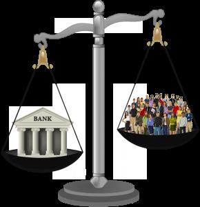банките, банките срещу народа